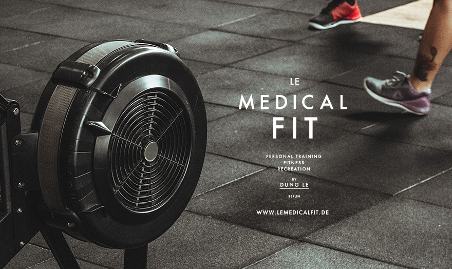Erscheinungsbild Le Medical Fit, Fitness, Personal Trainer, Berlin