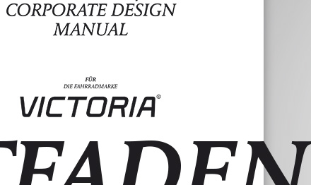 Bureau Alex Klug - Victoria Fahrrad Corporate Design Guide